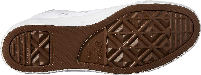 Converse CTAS Mono Hi, Sneakers Basses Mixte Adulte Blanc Monochrome