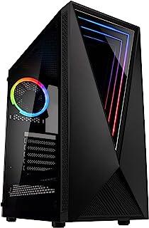 KOLINK Void RGB Midi-Tower - Torre para Windows, color negro