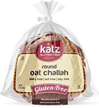 Katz Gluten Free Round Oat Challah | Dairy, Nut, Soy and Gluten Free | Kosher (1 Pack, 8 Ounce)