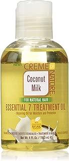 Creme Of Nature Coconut Milk Essential 7 Treatment Oil 4 Ounce (118ml)
