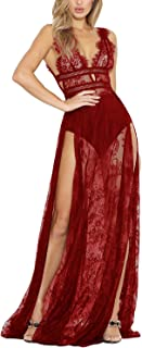 Best red sheer lace dress Reviews