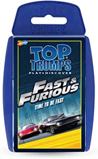 Fast and Furious Top Trumps Card Game,Blue