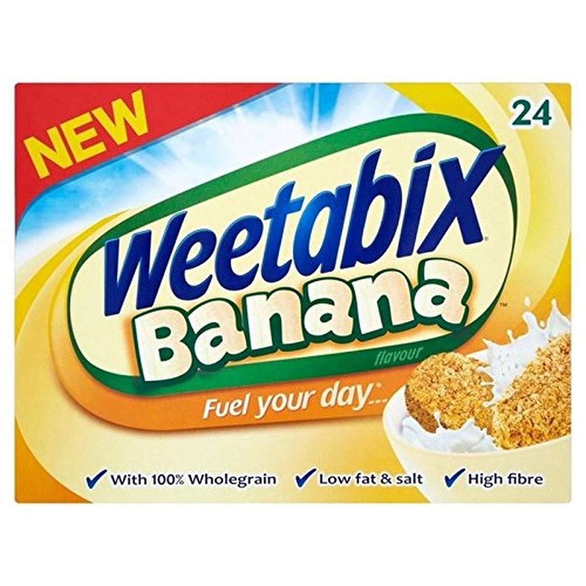 Weetabix Banana Cereal Japan's largest assortment 24 count 15oz 425g Max 69% OFF -