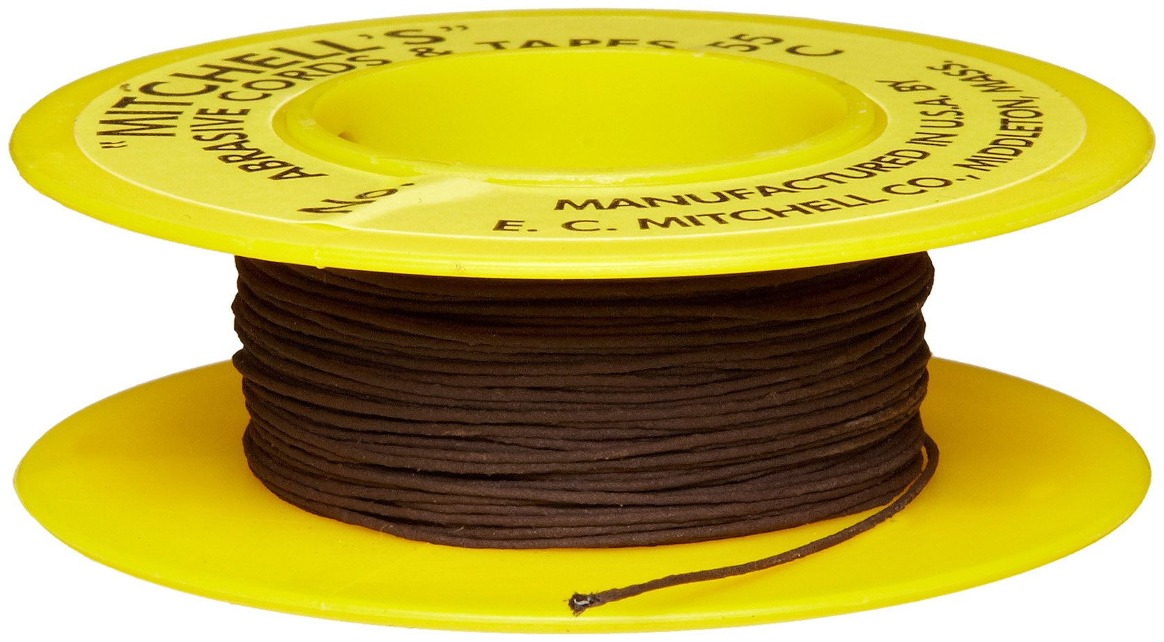 49 0.082 X 50 Ft. 120 Grit Mitchells Abrasive Emery Cords No