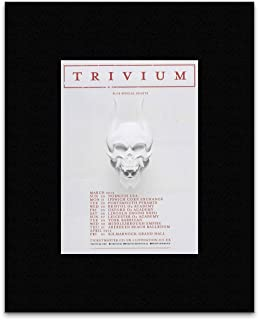 Kerrang Trivium - Silence in The Snow UK Tour 2016 Mini Poster - 40.5x30.5cm