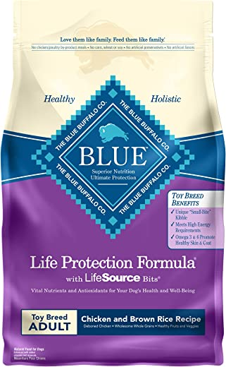 Blue Buffalo Blue Life Protection Formula Toy Breed Adult Chicken & Brown Rice Recipe Dry Dog Food