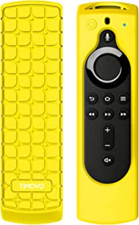 TiMOVO Protective Case for Fire TV Stick 4K Remote, Lightweight Soft Silicone [Anti Slip] Shockproof Cover for Fire TV Cub...