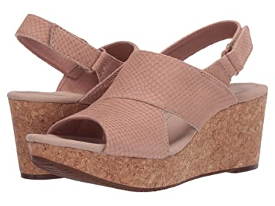 Clarks Annadel Sky (Blush Interest Nubuck) Women