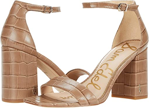 Praline Cairo Large Croco Leather