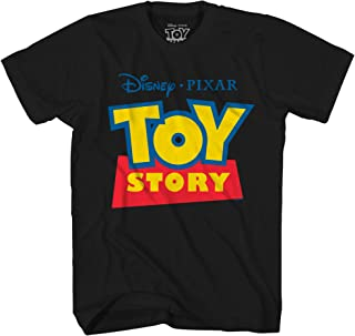 Disney Pixar Toy Story Logo Disneyland World Tee Funny Humor Men's Graphic T-Shirt