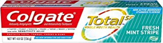 Colgate Total Toothpaste, Fresh Mint Stripe Gel, 4.8 Ounce