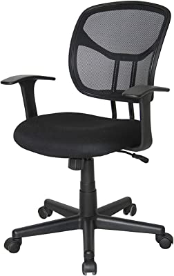Amazon.com: AmazonBasics Mid-Back Desk Office Chair with