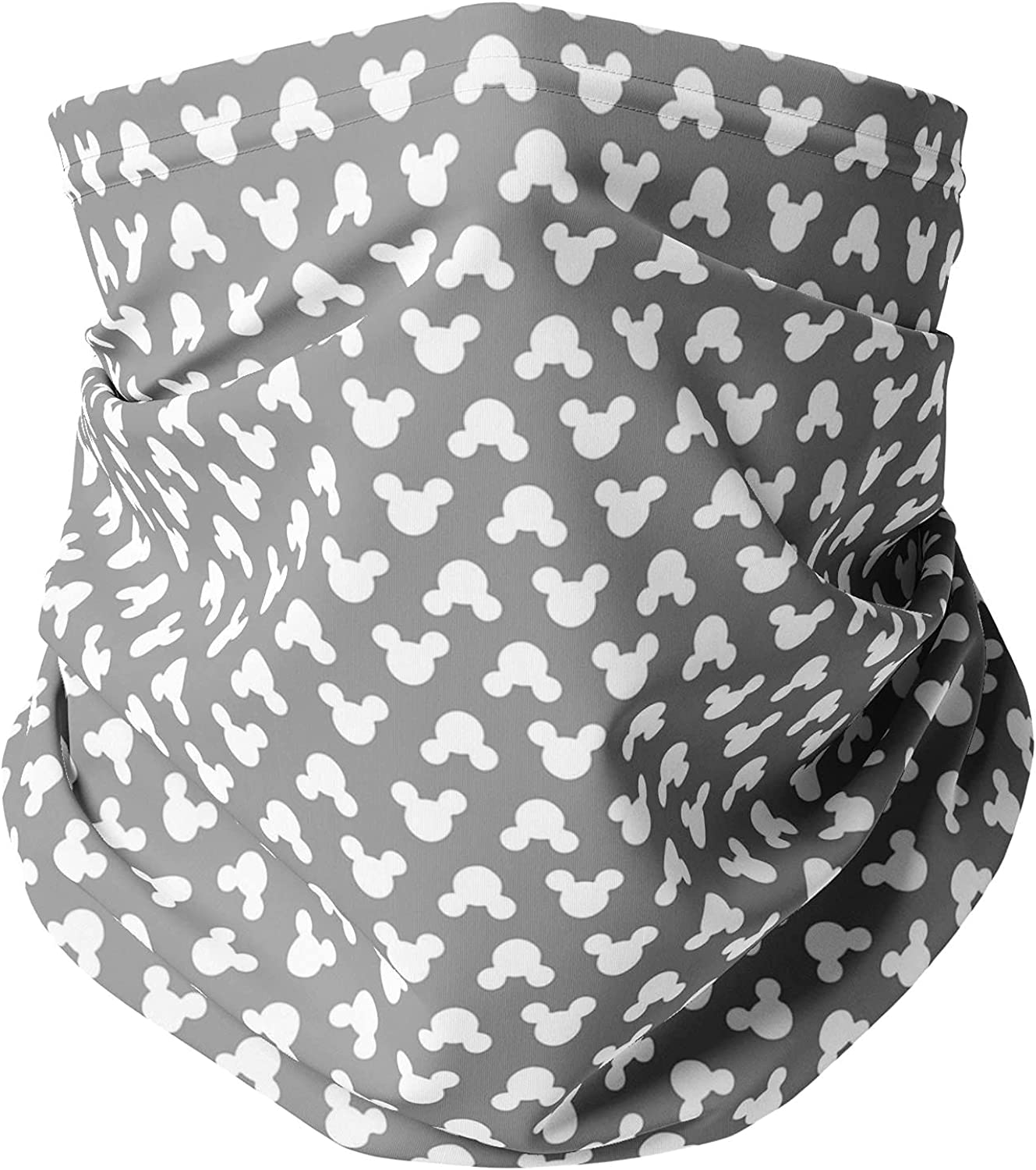 Neck Gaiter Face Covering - Mouse Ears Polka Dots