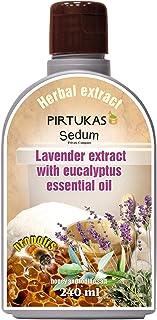Extrait de fines huiles essentielles aux herbes naturelles Sedum pour sauna - Infusion de sauna avec Extrait de lavande à ...