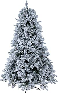 Bizzotto Albero Natale Rami innevati con luci LED 120h