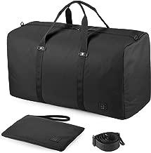 GAGAKU 80L Foldable Travel Duffel Bag Packable Duffle Bags for Flight Cabin
