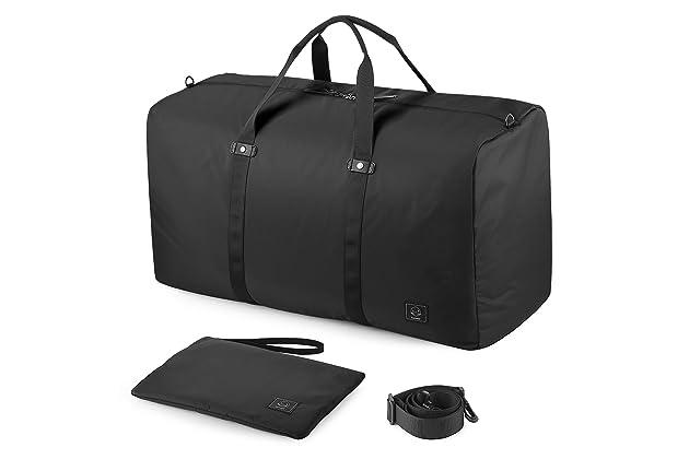 ca439f60e GAGAKU 80L Foldable Travel Duffel Bag Packable Lightweight Duffle Large  Flight Cabin Bags for Travel