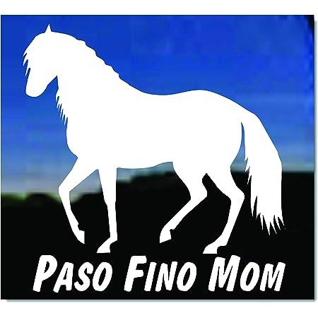 Paso Fino Horse Decal car,truck trailer decal