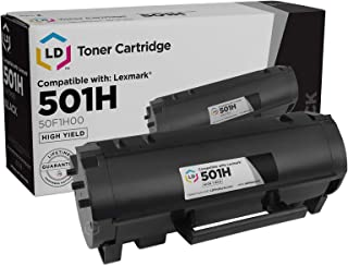 Best LD Compatible Toner Cartridge Replacement for Lexmark 501H 50F1H00 High Yield (Black) Review