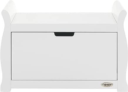 Obaby Stamford Sleigh Toy Box White