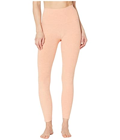 Beyond Yoga Spacedye High-Waist Midi Leggings (Coral Dust/Melon) Women