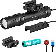 SKYBEN Olight Odin 2000 Lumens 300 Meters Magnetic Rechargeable Picatinny Mount 21700 Tactical Flashlight with Removable S...