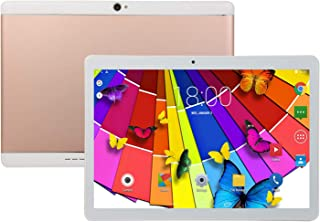 FidgetGear 10.1 inch Tablet Android 8.0 PC 8+128G ROM 2 SIM with GPS Rose Gold UK Plug