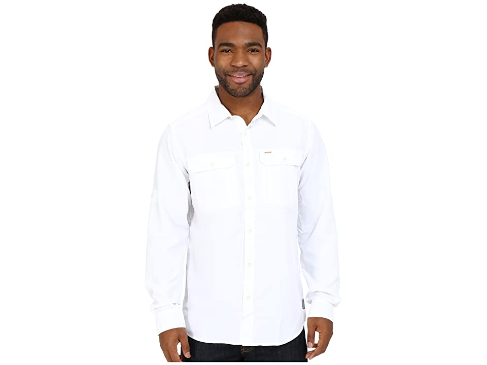 Mountain Hardwear Canyontm L/S Shirt (White) Men