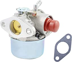 Pro Chaser Tecumseh 640350 640303 640271 Carburetor for Craftsman 5.5hp 6.0hp 6.5hp 6.75 hp Model 917.387282 Taro 20007 Lawn Mower 1990s Ariens Trimmer with Tecumseh LEV120-361076c Engine