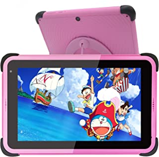 Barn Surfplatta 7 tums,kids tablet,Android 10 surfplattor för barn,32 GB ROM IPS HD-skärm Småbarnstablett med WiFi-dubbelk...