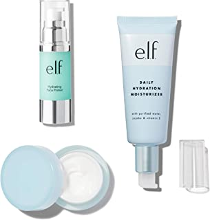 Sponsored Ad - e.l.f. Cosmetics Hydration Bundle, Daily Hydration Moisturizer, Illuminating Eye Cream, and Hydrating Face ...