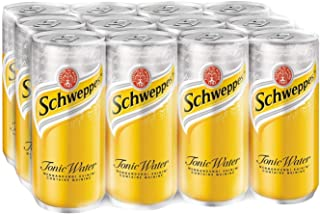 Schweppes Tonic Water, 320ml , Pack of 12