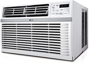 LG Energy Star Qualified 18,000 BTU Window-Mounted Air Conditioner (230V Plug) Cools Rooms Up to 1000 Sq Ft. with 3 Coolin...