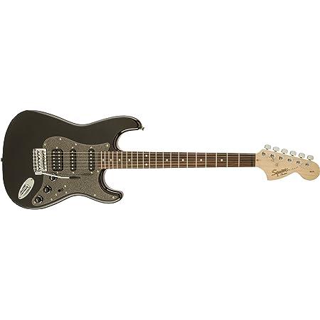 Squier by Fender Affinity Series Stratocaster HSS Electric Guitar - Laurel Fingerboard - Montego Black Metallic