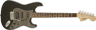 Best Squier by Fender Affinity Series Stratocaster HSS Electric Guitar - Laurel Fingerboard - Montego Black Metallic Review
