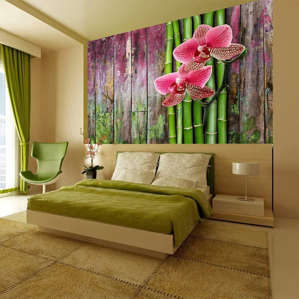 Daily bargain sale Rare Mural Wall Photo Modern flower-350x250CM 3D