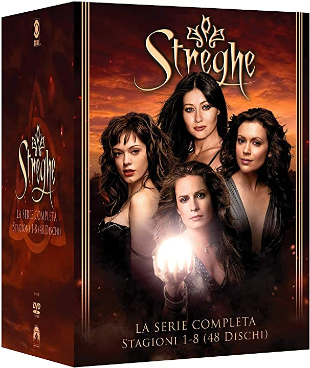 Streghe-la serie comp.-st.1-8 (box 48 dv) B07K9HTYYR