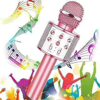 Microfono Karaoke Wireless, Buty Karaoke Portatile per Bambi