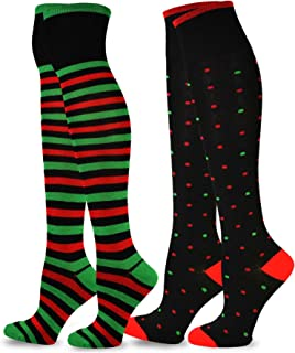 Best thigh high holiday socks Reviews