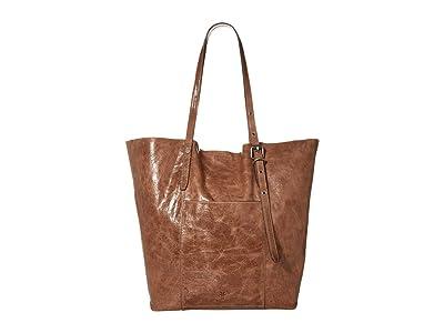 Frye Gia Simple Tote (Taupe) Handbags