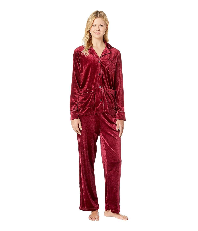 [ラルフローレン] レディース ナイトウェア Velvet Long Sleeve Notch Collar Pajama S [並行輸入品]