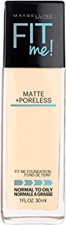 maybelline fit me foundation lightest shade