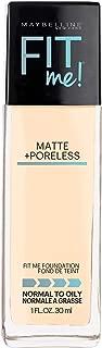 Maybelline Fit Me Matte & Poreless Mattifying Liquid Foundation - Porcelain 110