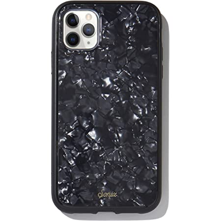 Sonix Black Pearl Tort Case for iPhone 11Pro [10ft Drop Tested] Protective Iridescent Tortoiseshell Black Marble Case for Apple iPhone 11 Pro