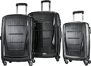 Winfield 2 Hardside Luggage, Brushed Anthracite, 3-Pc Set...