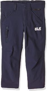 Jack Wolfskin Activate Pants Kids Pantalon d'hiver pour Enfant en Softshell