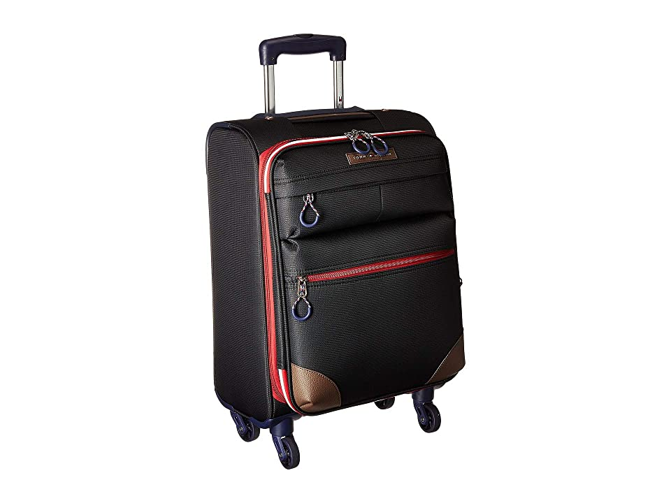 Tommy Hilfiger Glenmore 21 Upright Suitcase (Black) Pullman Luggage