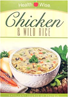 Healthwise- Chicken and Wild Rice Meal Replacement Soup| Healthy Nutritious Diet Soup | High Protein, Low Calorie, Low Fat...