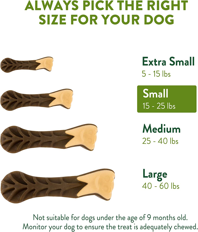 WHIMZEES Natural sin Grano Dental Dog Treats brushzees