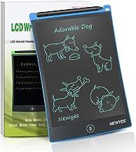 NEWYES 8,5 Pulgadas Tableta Gráfica, Tablets de Escritura LCD, Portátil Tableta de Dibujo Adecuada para el hogar, Escuela, Oficina, Cuaderno de Notas, 1 año de garantía (Azul)
